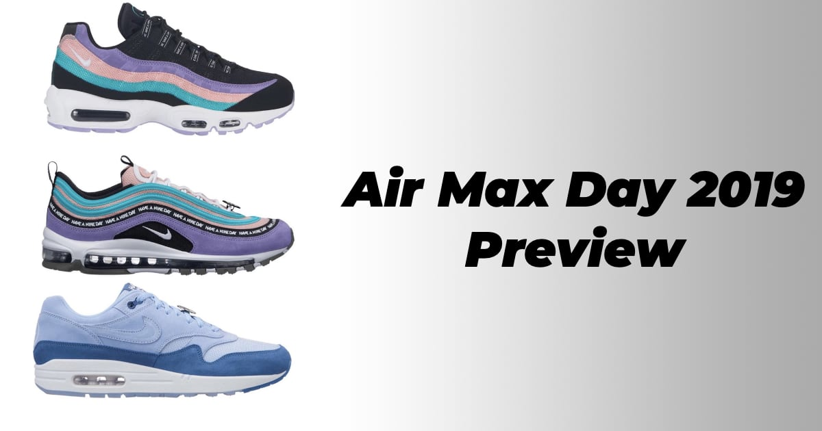 """Preview: De Nike Air Max Day 2019 collectie """"Have a Nike day"""