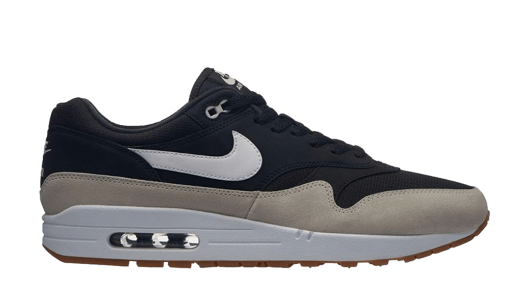 NIKE AIR MAX 1 BLACK/LIGHT BONE